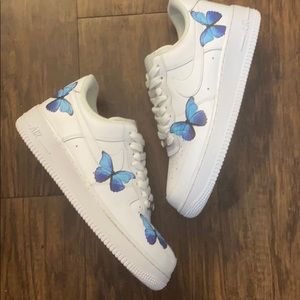 Air Force 1 custom butterflies